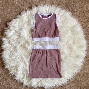 Fashion Nova Skirt Set Size S